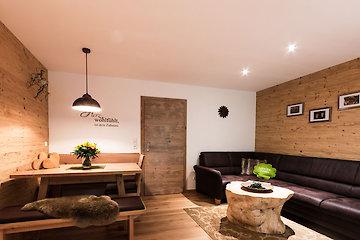 Wohnbereich - Ferienwohnung Kuhle Suite